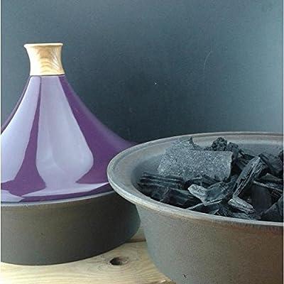 Netherton Foundry Iron Garden Hob Tagine - Purple from Netherton Foundry