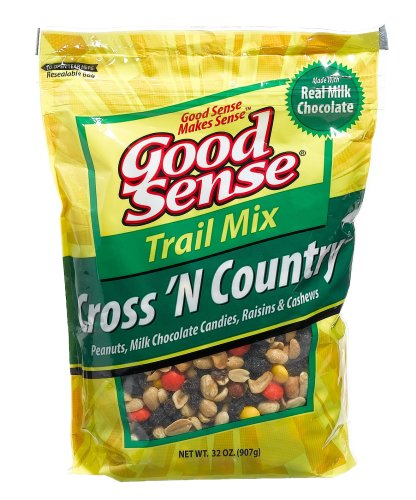 Buy Good Sense Trail Mix, Cross 'N Country - Econo Bag, 32-Ounce Bag (Pack of 3) (Good Sense, Health & Personal Care, Products, Food & Snacks, Snacks Cookies & Candy, Snack Food, Trail Mix)