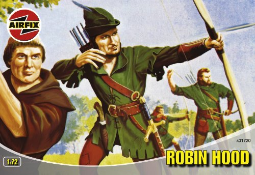 Airfix A01720 1:72 Scale Robin Hood Figures Classic Kit Series 1