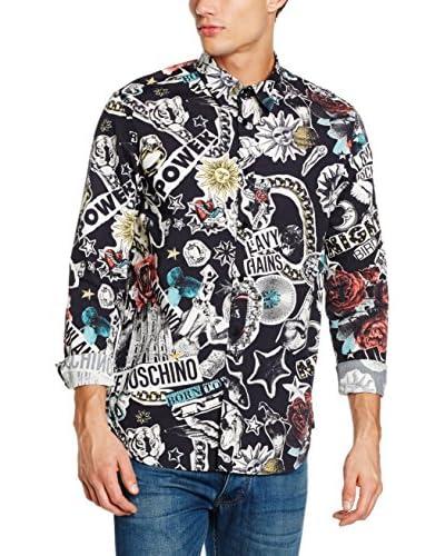Love Moschino Hemd schwarz