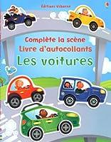 Les voitures - Complète la scène - Livre d'autocollants