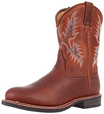 Ariat Men's H Stockman H20 Insulated Boot,Oiled Brown,8 M US