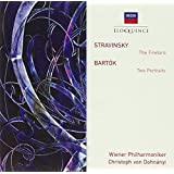 Stravinsky : l'Oiseau de Feu ( Firebird ) ; Bartók : Two Portraits [Australia]