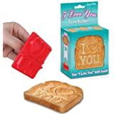 Accoutrements I Love You Toast Stamper
