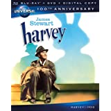 Harvey (Blu-ray + DVD + Digital Copy) ~ James Stewart
