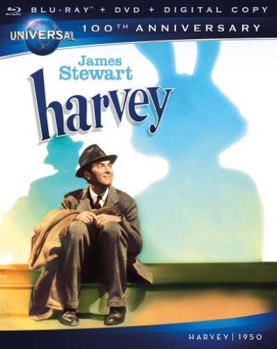 Cover art for  Harvey (Blu-ray + DVD + Digital Copy)