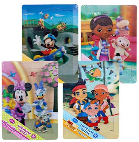 Minnie Mouse Lenticular Foil Puzzle 24 Pieces