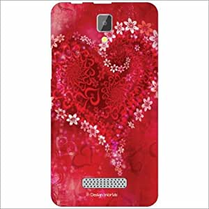Design Worlds - Lenovo A2010 Designer Back Cover Case - Multicolor Phone Cover