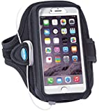 Armband for iPhone 6 6S Plus with a case (fits OtterBox Defender for iPhone 6S Plus, iPhone 6 Plus, Note 5, Note 4 and more)