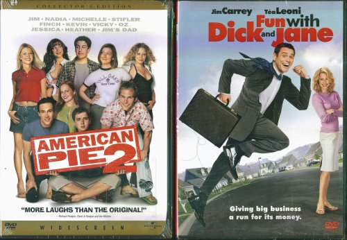 American Pie 2 & Fun With Dick And Jane - 2 Comedy DVDs In Set