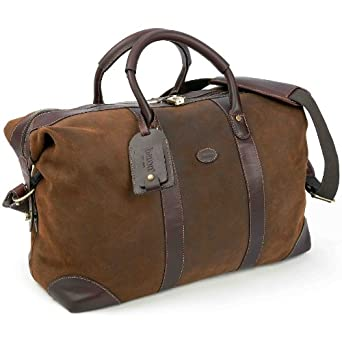 Baron Country Suede & Leather Cassino Country Bag