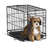 Midwest 1518 iCrate Single-Door Pet Crate 18-By-12-By-14-Inch