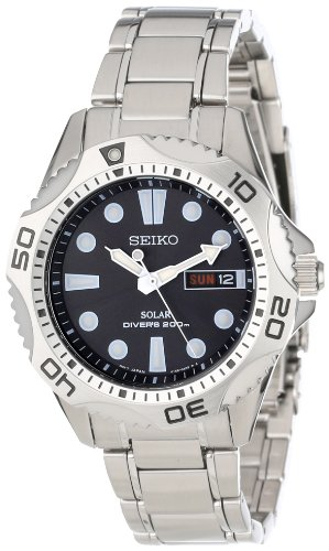 Seiko Men's SNE107 Solar Dive Watch