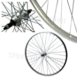 700c Hybrid Alloy 36H Silver Bolted R...