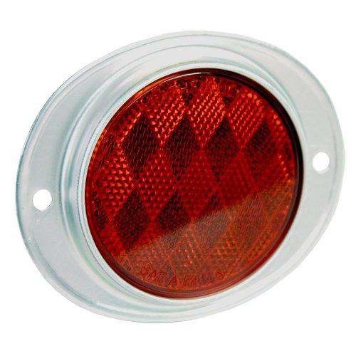 Blazer B888R Oval Aluminum Reflector – Red