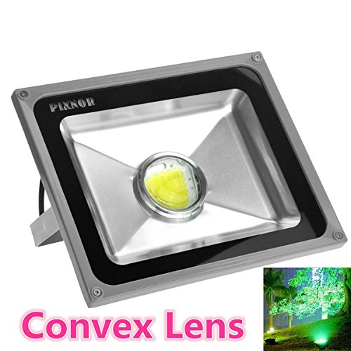 Pixnor Pixnor 50W Ac85V-265V 4000-4500Lm Outdoor Waterproof Led Flood Light Lamp With Convex Lens (White Light)