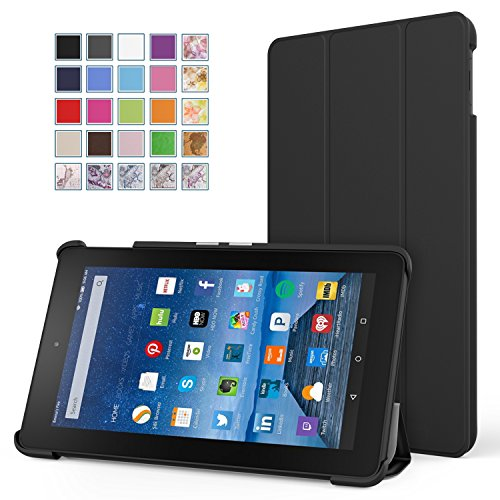 Find Cheap Fire 7 Case - MoKo Ultra Lightweight Slim-shell Stand Cover for Amazon Fire Tablet (7 inc...