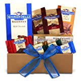Garland and Ghirardelli Christmas Chcolates Gift Set
