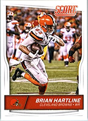 2016 Score #80 Brian Hartline Cleveland Browns Football Card