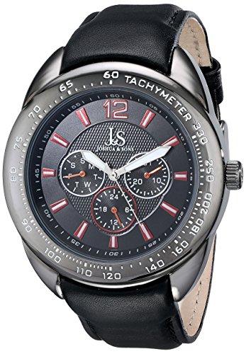 Joshua & Sons JS-45-BK - Reloj para hombres