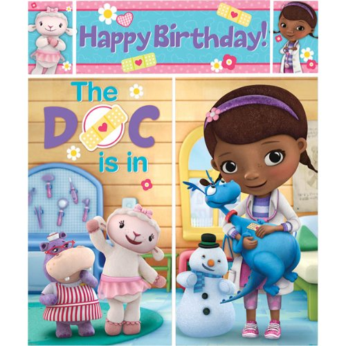 5-Piece Doc McStuffins Scene Setter Set, Multicolored