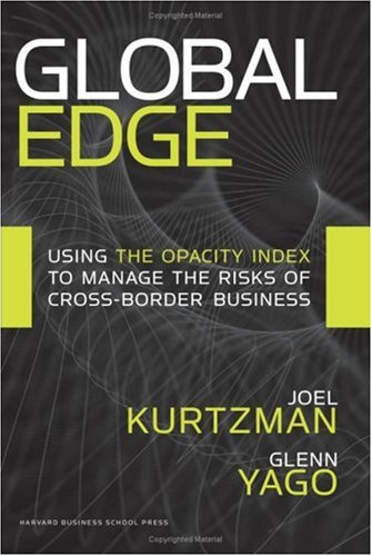 Global Edge: Using the Opacity Index to Manage the Risks...