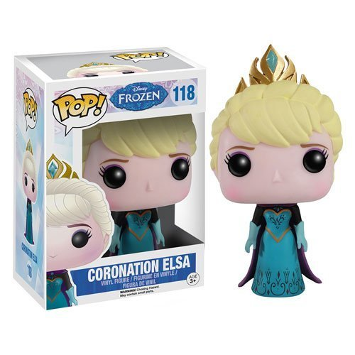 Disney Frozen Coronation Elsa Pop! Vinyl Figure 118 - 1