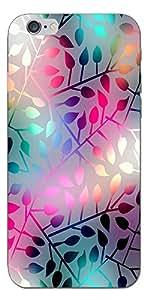 SEI HEI KI Designer Back Cover For Apple I Phone 6S - Multicolor