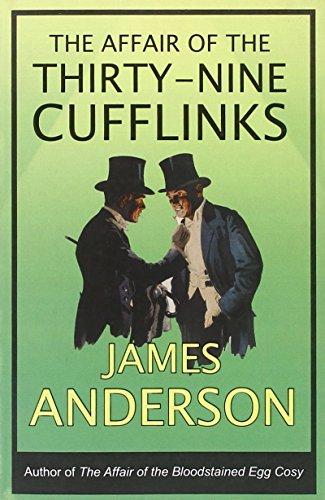 The Affair of the Thirty-Nine Cufflinks (Burford Family Mysteries 3)