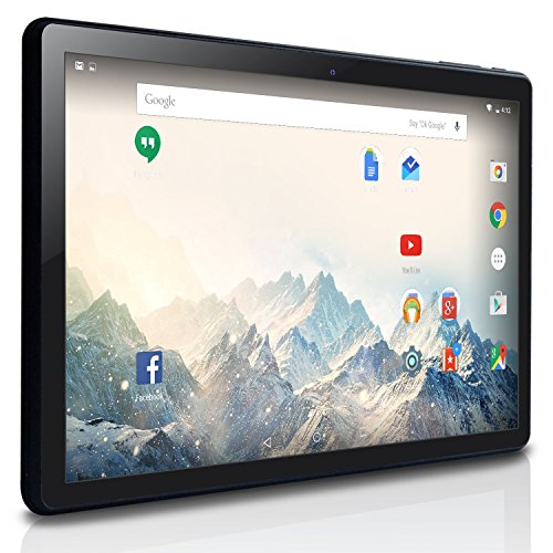 NeuTab-101-inch-Quad-Core-Android-51-Lollipop-OS-Tablet-PC-16GB-Nand-Flash-Bluetooth-Mini-HDMI-GPS-Supported-1-Year-US-Warranty-FCC-Certified-Black