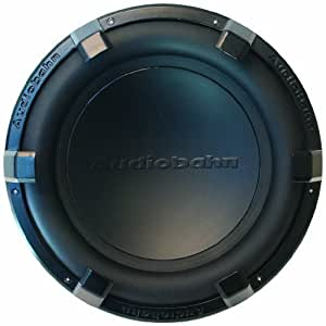 Audiobahn ALUM10M 10-Inch 800 Watts Sound Q Series Dual 2 Ohm Car Audio Subwoofer