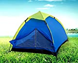 #6: Inditradition 2-Person Family Camping & Hiking Tent / All Weather Dome Backpacking Tent (Waterproof, With Floor Mat & Net Window), Multi Color
