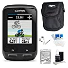 Garmin Edge 510 Cycling Performance Monitor and Sensors GPS with Case and Warranty Kit - Includes GPS, Carrying Case, Three Year Additional Warranty Certificate, White Audio Earbuds with Microphone, LCD Screen Protectors, and 3pc. Lens Cleaning Kit