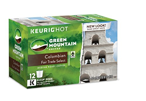 Green Mountain Coffee Colombian Fair Trade Select, Keurig K-Cups, 72 Count (Colombian K Cups compare prices)