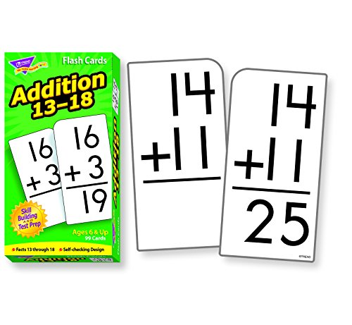Skill Drill Flash Cards: Addition 13-18 - 1