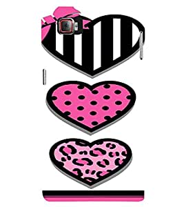 PrintVisa Cute Hearts Art 3D Hard Polycarbonate Designer Back Case Cover for Lenovo Vibe Z2 Pro K920