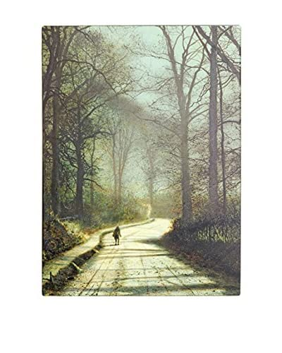 John Grimshaw Moonlight Walk Canvas Wall Art