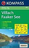 Villach, Faaker See: Wander- und Bikekarte. Carta escursioni e bike. Mit Panorama. GPS-genau. 1:25.000 Picture