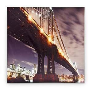 LED Bild 'Manhattan Bridge'