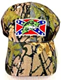 Johnny Reb Camouflage Rebel Confederate Flag Bass Fishing Hunting Baseball Cap Hat