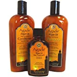 Agadir Argan Oil Daily Moisturizing 3 In 1 Combo Set (Daily Moisturizing Shampoo Daily Moisturizing Conditioner...