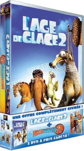 L'AGE DE GLACE 2 MAGIC BASKET 2 - COFFRET 2 DVD  (COFFRET DE 2 DVD)
