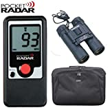 Pocket Radar PR1000 PR-1000 Personal Handheld Speed Radar Bundle