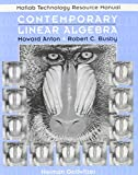 img - for Contemporary Linear Algebra, MATLAB Technology Resource Manual book / textbook / text book