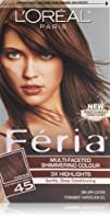 LOreal Paris Feria Hair Color 45 Deep Bronzed BrownFrench Roast