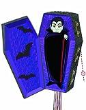 Halloween Vampire Coffin Pull String Pinata