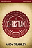 Christian Participants Guide: Its Not What You Think