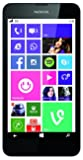 Nokia Lumia 630 Single-SIM Smartphone (11,4 cm (4,5 Zoll) Touchscreen, 5 Megapixel Kamera, HD-Ready Video, Snapdragon 400, 1,2GHz Quad-Core, Windows Phone 8.1) weiß