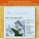 Schubert : Quintette D956 - Symphonie n� 5 D.485