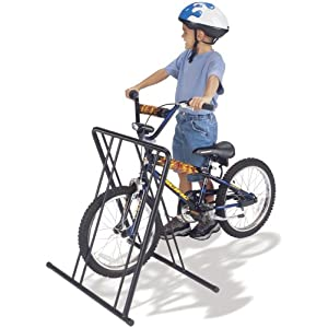 Click to buy Gear Up Four-On-The-Floor 4 Bike Folding Floor Stand from Amazon!